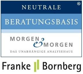 Logos Franke und Bornberg Morgen und Morgen